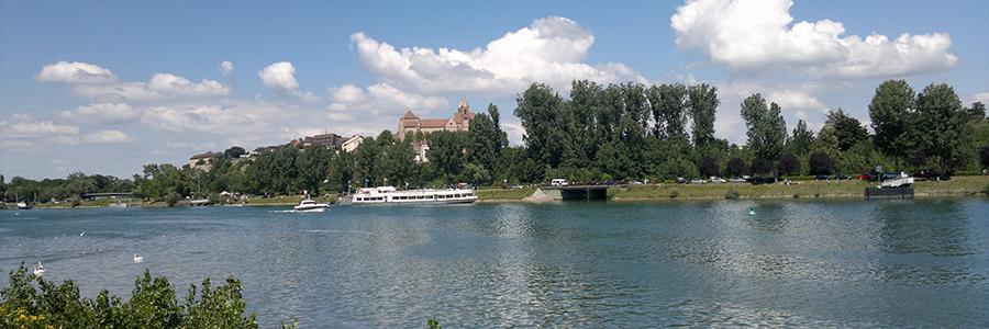 Ansicht Breisach am Rhein